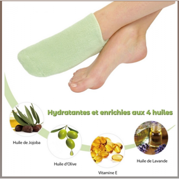 Chaussettes SPA Hydratantes Vert