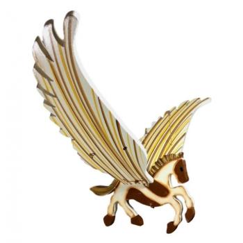 Mobile artisanal Cheval issu du commerce équitable