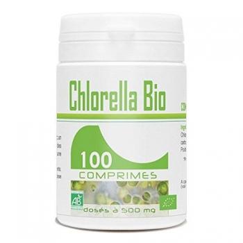 Pilulier de 100 comprimés de Chlorella Bio