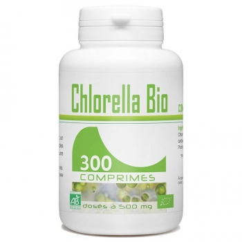 Pilulier de 300 comprimés de Chlorella Bio