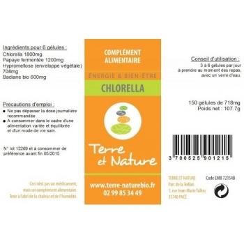 Chlorella - Détoxification