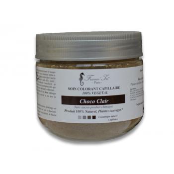 COLORATION   Soin Colorant Choco Clair 100 % Végétal 140 G