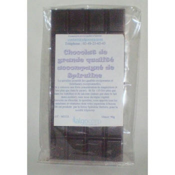 Chocolat avec 10g de spiruline