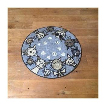 chat en cercle