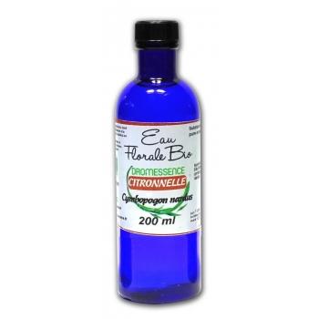 Hydrolat (ou eau florale ) de citronnelle BIO 1L DROMESSENCE