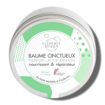 Baume onctueux - Lait d'amande - 150 ml - Clémence & Vivien
