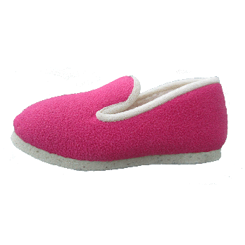 chaussons cocooning fushia