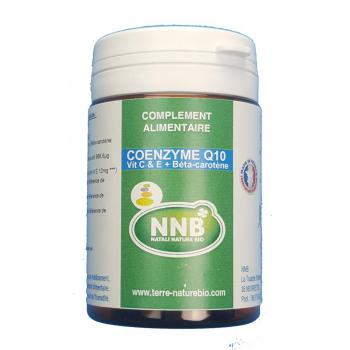 Coenzime Q10 Vitamine C & E + bétacarotène