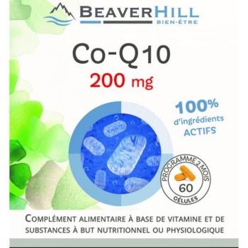 CoQ10 - COENZYME Q10 - 60 Gélules de 200 mg / Programme pour 2 mois