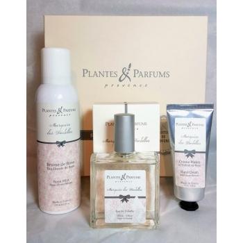Coffret cosmétiques Marquise des Dentelles - Plantes & Parfums de Provence