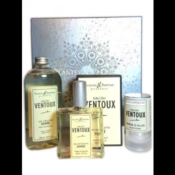 Coffret cadeau pour homme Eau du Ventoux - Plantes & Parfums de Provence