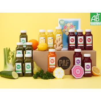 Cure de 7 jours de fruits et légumes bio - Cure Immuni'Boost - PAF le jus