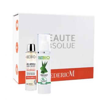 coffret cadeau Noël Beauté Absolue sérum bio, crème visage aloe vera