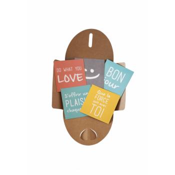 Chuchoter des mots avec nos magnets accompagnés d'une pochette à fermeture japonaise