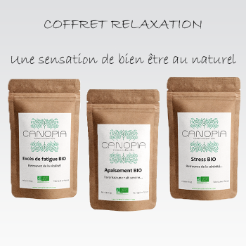 Coffret Infusions Relaxation BIO