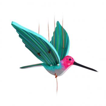 Mobile artisanal  colibri d'Anna issu du commerce équitable