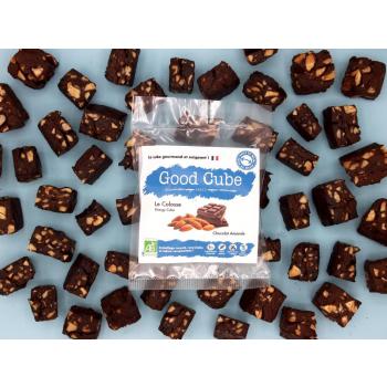 """Brownie au chocolat et aux amandes """"Le Colosse"""" BIO - 35g"""