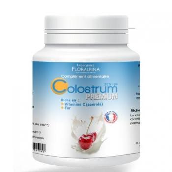 Colostrum premium 60 gélules (acérola + fer)