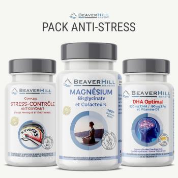 Pack Anti-Stress - Oméga-3, Magnésium et Cofacteurs, Stress-Contrôle