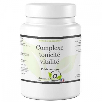 Complexe tonicité vitalité bio 100g
