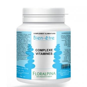 Complexe vitamines 120 gélules de 475mg