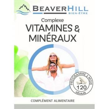 Complexe VITAMINES et MINÉRAUX - PROMO ! -  3 Achetés / 1 Offert