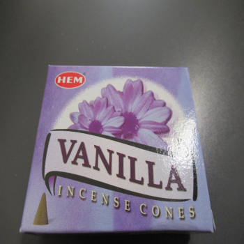"""Cônes encens """"vanille"""""""