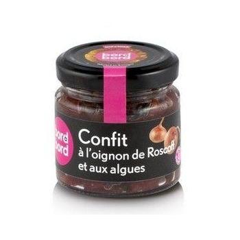 Confit Bio aux Algues et à l'Oignon de Roscoff 100g