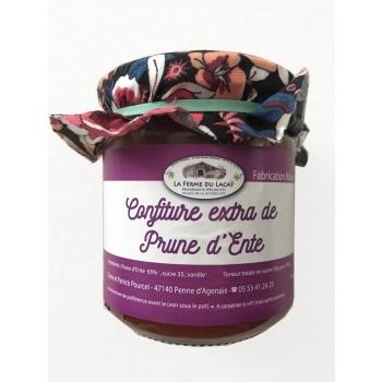 Confiture extra de prune d'Ente BIO 220g