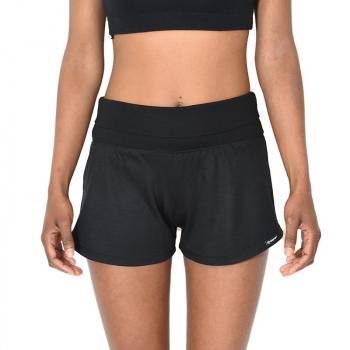 Short femme ceinture ajustable noir