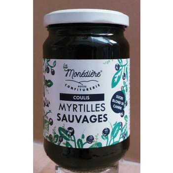 Coulis de Myrtille sauvage La Monédière 320g