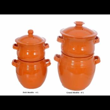 Couscoussier de cuisson - Petit Modèle -4 L