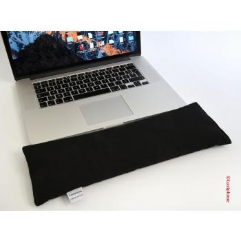 LUXIPLUME - Repose poignet BIO pour clavier, ergonomique et respirant, tissu et écales de sarrasin BIO