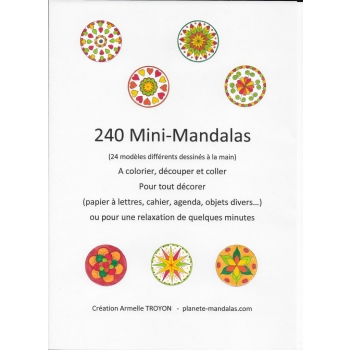 240 Mini-Mandalas
