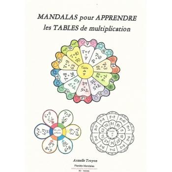 Mandalas pour apprendre les tables de multiplication