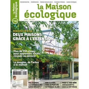 La Maison écologique n° 92