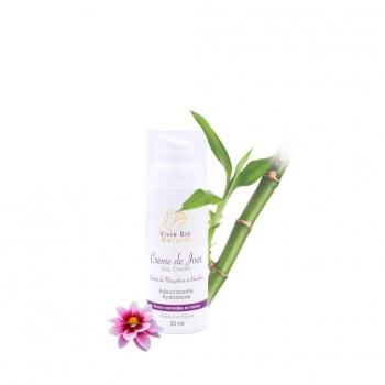 Crème de jour hydratante à l'extrait de nénuphar et bambou