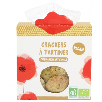 Biscuits Crackers Pavot Chia