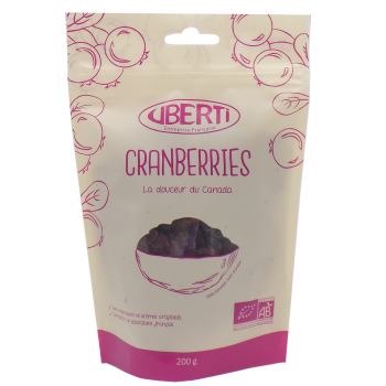 Cranberries (canneberges) bio 400g