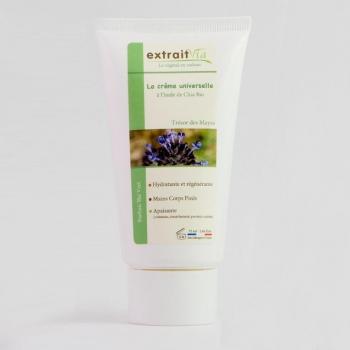 Crème universelle nourrissante à l'huile de Chia Bio Senteur Thé vert