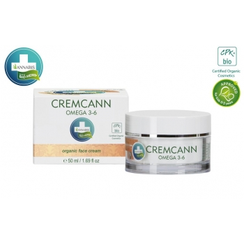 Cremcann Omega 3-6 Crème visage bio - 50ml