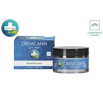 Cremcann Q10 Men Crème visage bio pour homme - 50ml