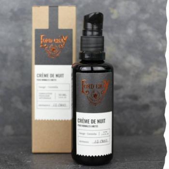 Crème de nuit visage pour homme - 50ml - Lord Gray