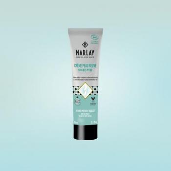 Crème peau neuve MARLAY pour pieds secs 100 ml