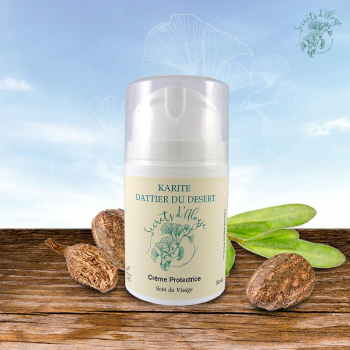 Crème Protectrice Karité - Dattier du Désert - 50 ml - Peau sèche