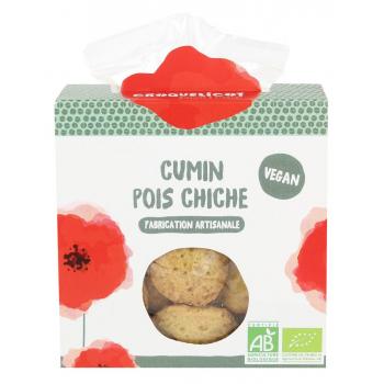 Biscuits au Cumin Pois Chiche