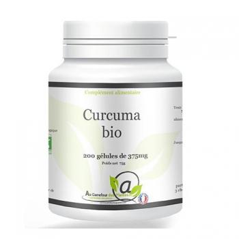 Curcuma bio 200 gélules de 375mg