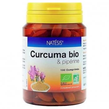 Curcuma & Pipérine Bio - 100 comprimés 300mg