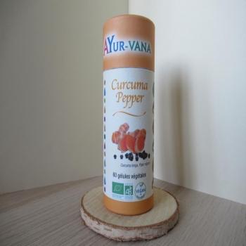 "Gélules ayurvédique ""curcuma pepeer"""