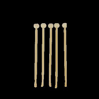 le lot de 5 cure-oreilles en bois